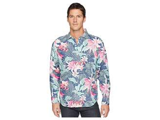 Tommy Bahama Loredo Gardens Linen Shirt Men's Clothing
