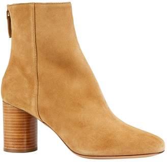 Sandro Sacha Suede Boots