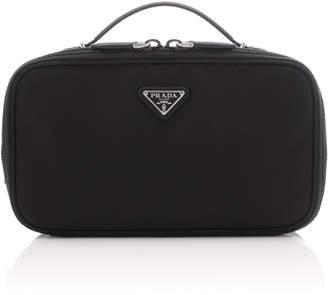 f2865b9d1ebe Prada Contenitori Leather-Trimmed Shell Cosmetics Case