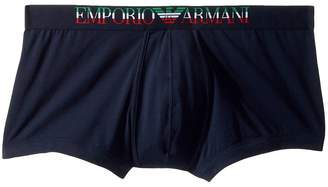 Emporio Armani Italian Flag Trunk Men's Underwear