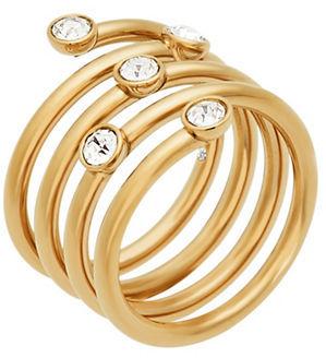 MICHAEL Michael KorsMichael Kors Brilliance Scatterd Crystal Wrap Ring