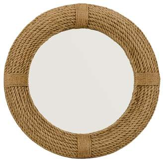 Pottery Barn Rope Mirror - Round