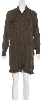The Kooples Long Sleeve Button-Up Romper w/ Tags