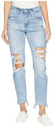 Blank NYC The Rivington Hi Rise Tapered Leg Denim Jeans in Jackpot Women's Jeans