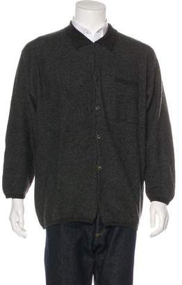 Bullock & Jones Cashmere Button-Up Sweater