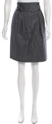 Stella McCartney Knee-Length Plaid Skirt