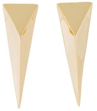 Alexis Bittar Extra Large Pyramid Clip-On Earrings