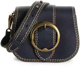 Polo Ralph Lauren Stitched Lennox Leather Crossbody Bag - Women's