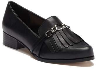 Tahari Lively Leather Loafer