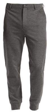 Saks Fifth Avenue MODERN Fixed Waist Joggers