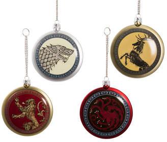 Kurt Adler 80mm Game of Thrones Disc Ornament Set of 4