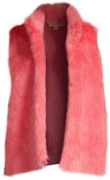MICHAEL Michael Kors Faux Fur Sweater Vest