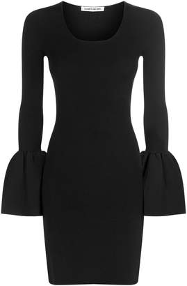 Elizabeth and James Willowmena Bell Sleeve Ribbed Dress