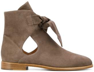 Unützer cut-out ankle boots