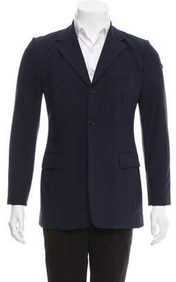Ralph Lauren Wool Three-Button Blazer