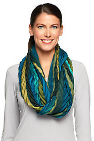Collection XIIX Collection 18 Striped Chevron Infinity Scarf $9.90 thestylecure.com