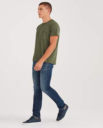 7 For All Mankind AirWeft Denim Paxtyn Skinny With Clean Pocket in Mirage