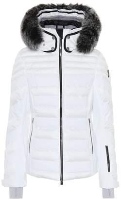 Toni Sailer Dioline fur-trimmed ski jacket