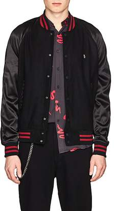 Ksubi Men's The Bats Wool-Blend Felt Varsity Jacket