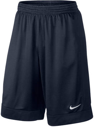 "Nike Men's 11"" Fastbreak Striped Basketball Shorts $30 thestylecure.com"