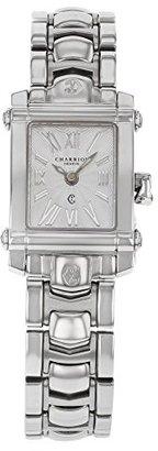 Charriol Women 's ' Columbus ' Swiss QuartzステンレススチールDress Watch , Color : silver-toned (モデル: CCSTRD。910.2018 )