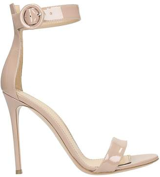 Lerre Nude Patent Leather Sandals
