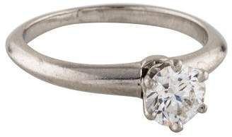 Tiffany & Co. & Co. Platinum Setting Engagement Ring