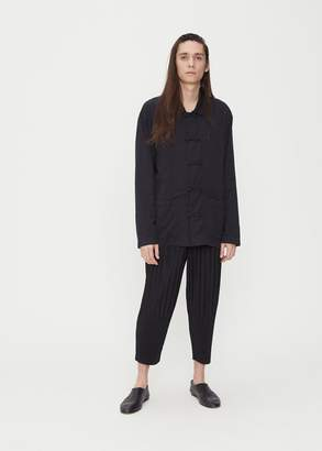 Issey Miyake Double Face Cotton Loop Shirt