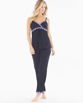 Belabumbum Dottie Cotton Nursing Pajama Set Black Dot