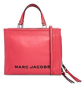 Marc Jacobs Women's The Box Leather Shopper