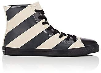 Calvin Klein Men's Striped Leather & Suede Sneakers