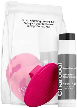 Sephora ACCESSORIES Mini Brush Cleaning Set
