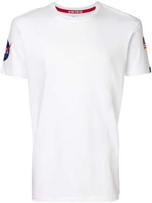 Alpha Industries flag patch T-shirt