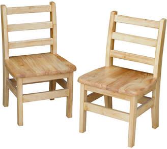 Guidecraft Set Of 2 Carolina Chairs