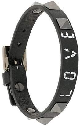 Valentino Rockstud Love bracelet
