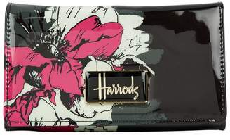Harrods Abstract Floral Long Wallet