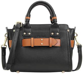 Belle & Bloom Ally Leather Satchel Black