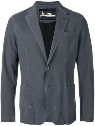 Herno slim-fit blazer