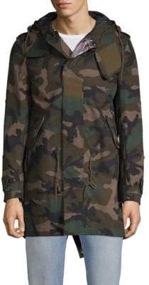 Valentino Camouflage Cotton Jacket