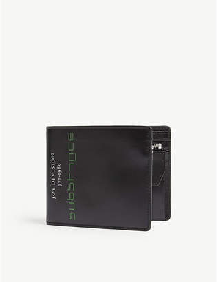 Raf Simons Substance leather wallet