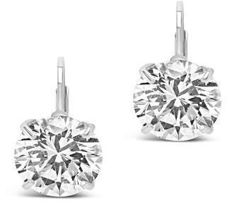 Sterling Forever Sterling Silver CZ Drop Earrings