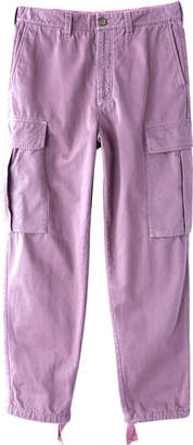 Acne Studios pat cargo pants lilac