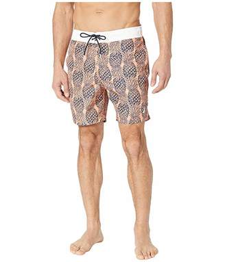 Nautica Pineapple Print Trunk
