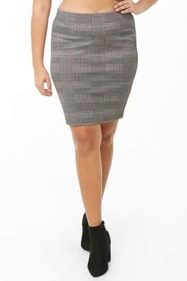624802645f Plus Size Plaid Skirt - ShopStyle Canada