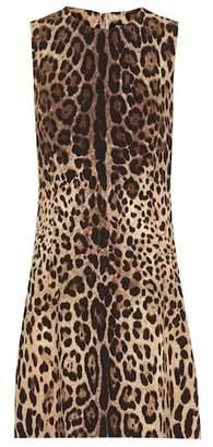 0ecfc9dc0e Dolce   Gabbana Leopard Print Dresses - ShopStyle