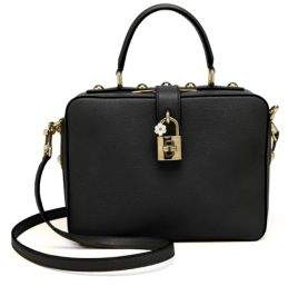 Dolce & Gabbana Leather Top-Handle Bag