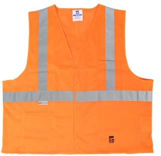 Viking Men's Mesh Safety Vest, Pack of 25