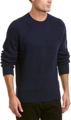 Vince Ribbed Wool & Cashmere-Blend Crew Sweater