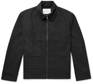 Studio Nicholson Marquis Thornproof Wool Blouson Jacket