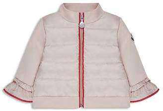Moncler Girls' Bell-Sleeve Puffer Jacket - Baby